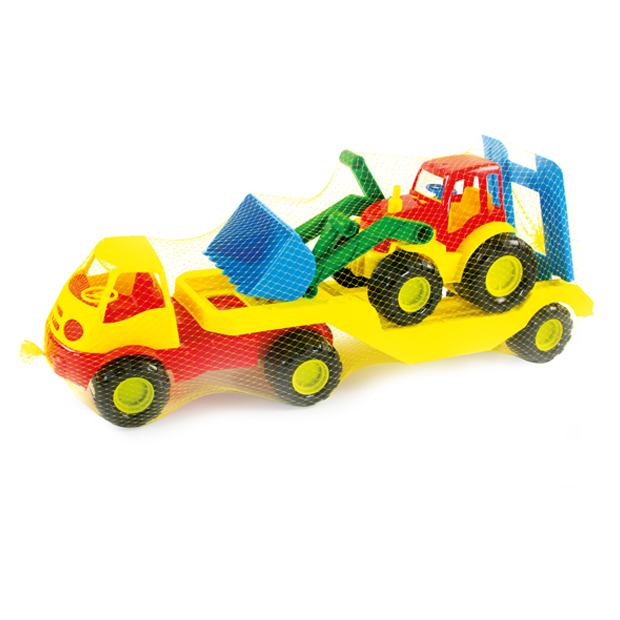 CAR ACTIV WITH TRACTOR ONE LEVEL