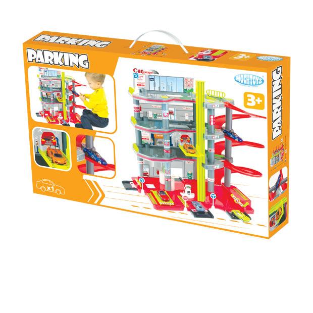 Parking 4 Poziomy z Autkiem