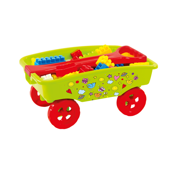 Wózek z Klockami Combi